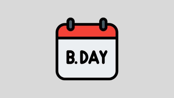 fecha de nacimiento