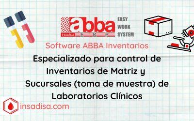 45. Ejemplo aplicado: Software ABBA para control de Inventarios en Matriz y Sucursales de Laboratorio Clínico